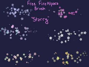 Free Starry Brush (FireAlpaca/Medibang)