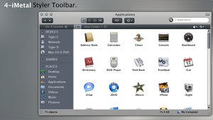 4-iMetal Styler Toolbar