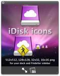 iDisk icons for MobileMe