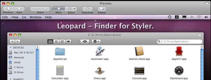 Leopard Finder for Styler