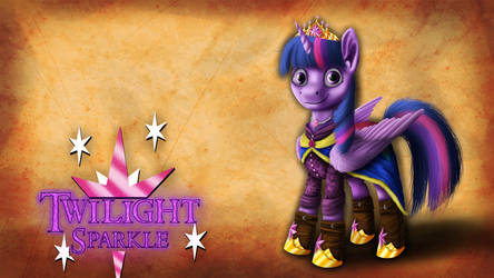 The Princess of Friendship - Wallpaper by MisiekPL