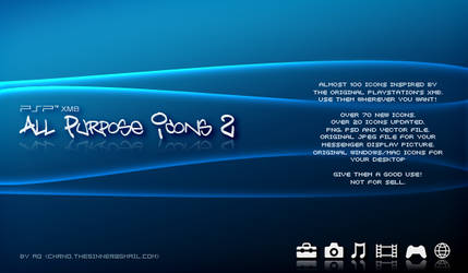 PSP XMB All Purpose Icons 2 by chrno00