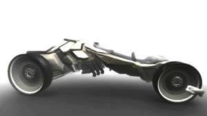 Futuristic Car Download by DennisH2010