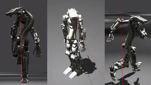 BGE Robot (WIP) Test Video 1 by DennisH2010