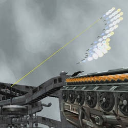 Remote-controlled missiles - Blender Game Engine
