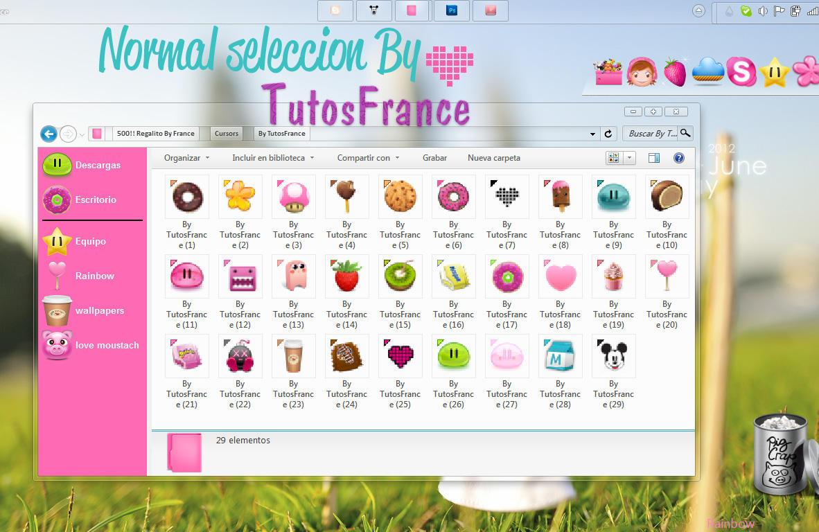 Cursores de la normal seleccion by Francebeauty