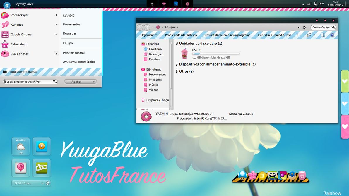 YuugaBlue [TutosFrance] by Francebeauty