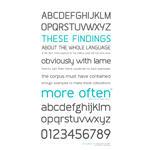 Often typeface - beta version