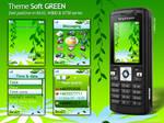 Soft GREEN Theme for SE K6xx