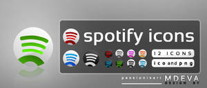 Alternative Spotify icons