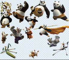 Kung Fu Panda PSD by truemisha