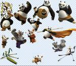 Kung Fu Panda PSD
