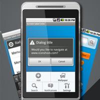 Android GUI PSD by truemisha