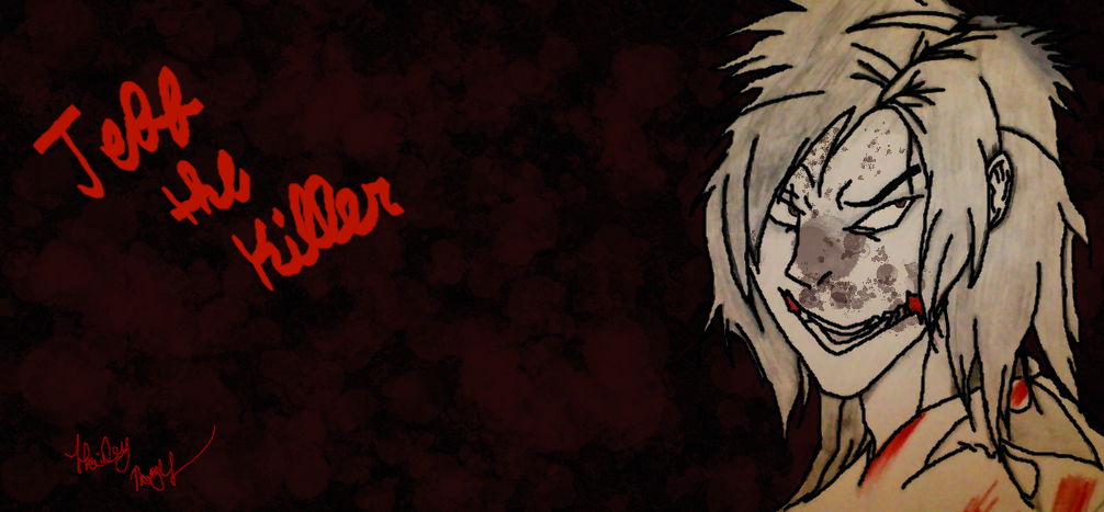 redraw jeff the killer - photo #31