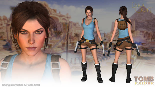 Classic Lara Croft 2015 - XPS (Download) by Pedro-Croft