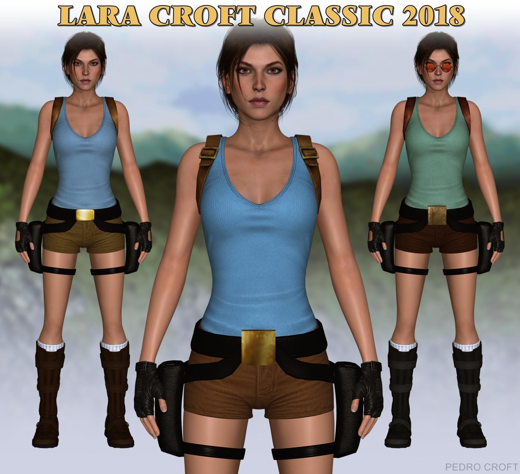 Lara Croft Classic 2018 - XPS DOWNLOAD (updated)