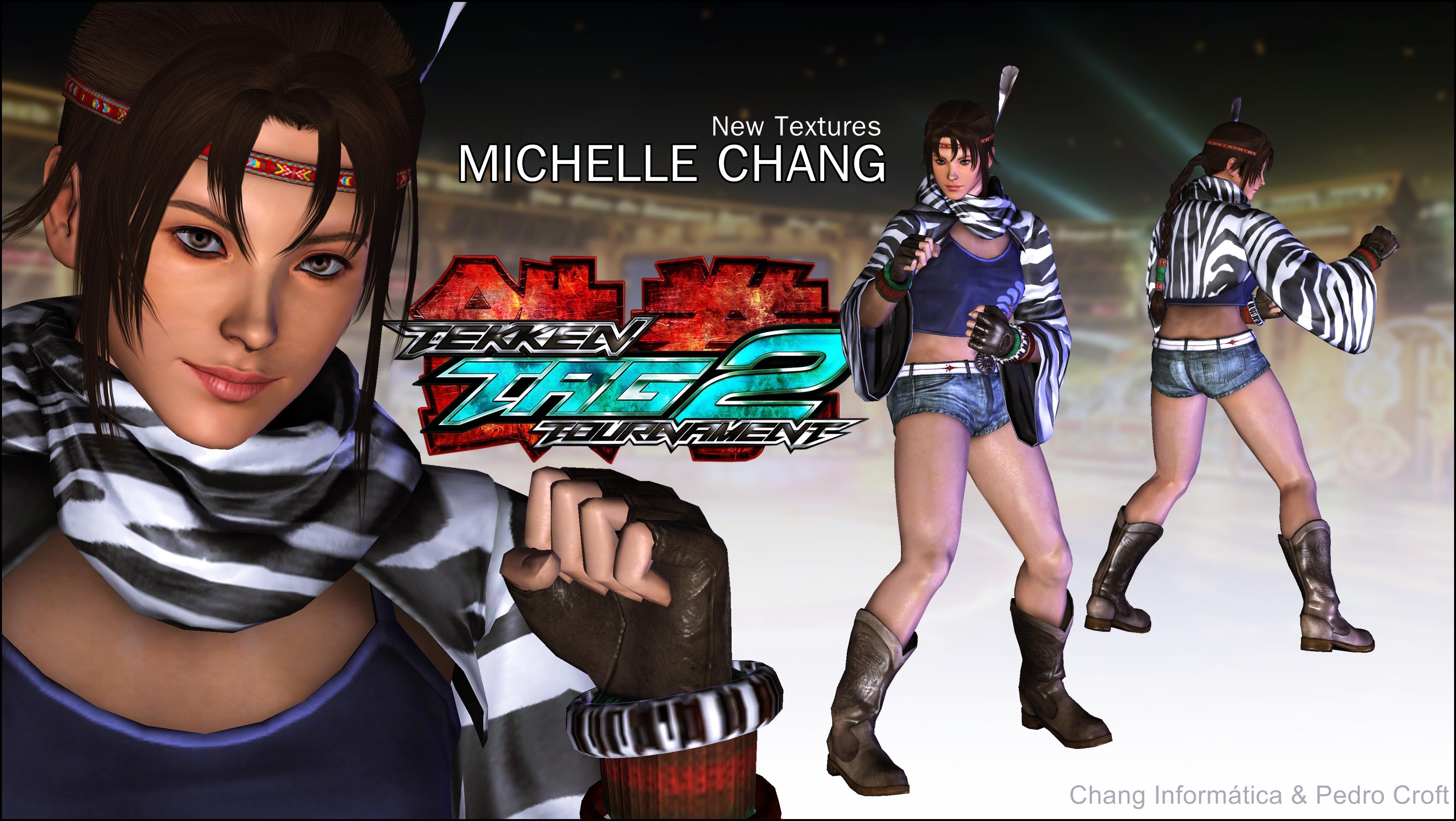 michelle chang - ttt2|new textures (xps download)pedro-croft on