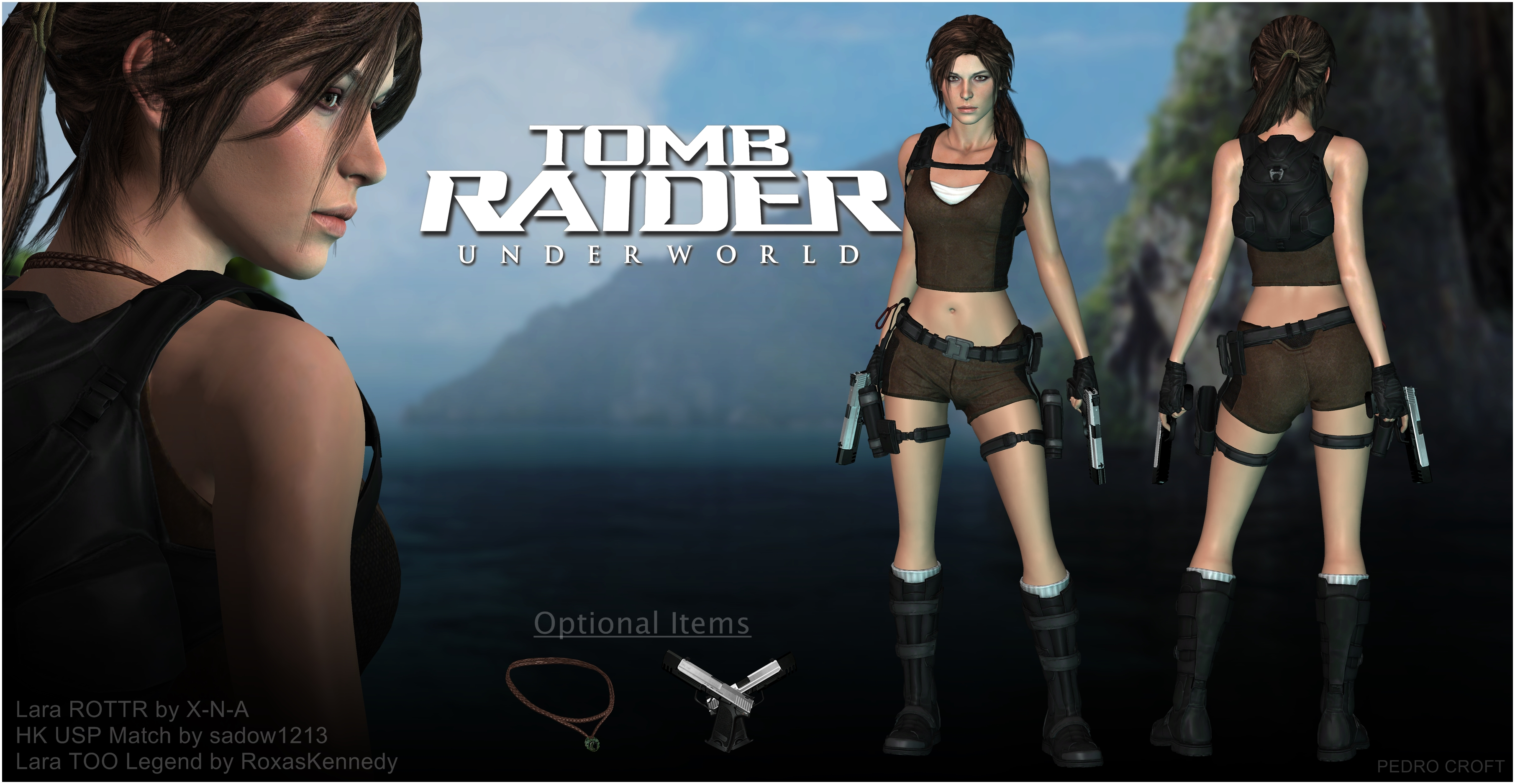 Lara Croft Underworld 2016 - XPS Download