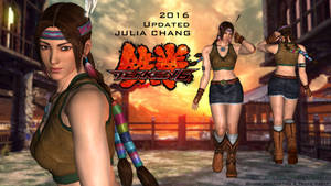 Julia Chang TEKKEN 6 - XPS Download (updated) 2016