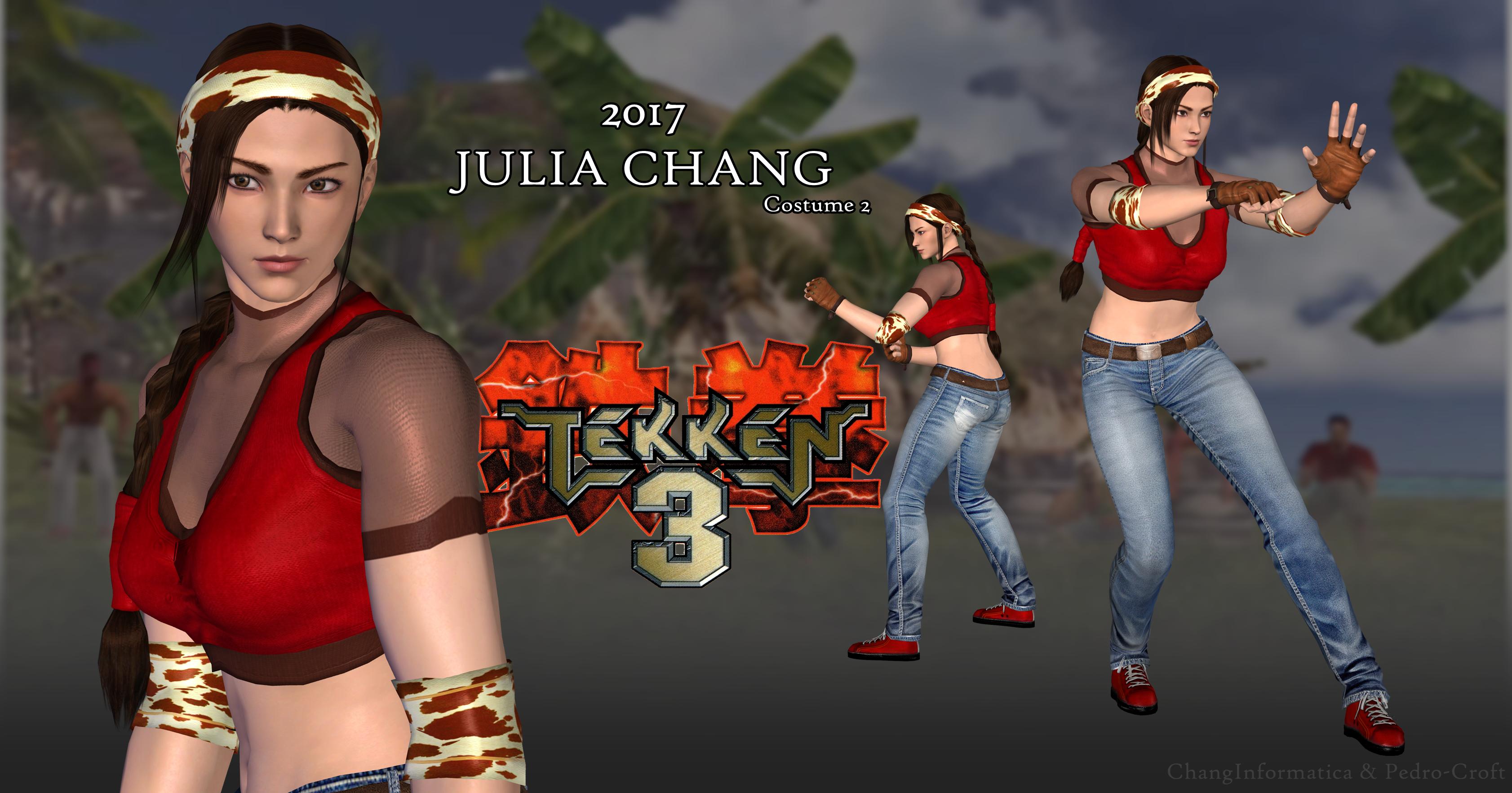 jin kazama and julia chang relationship