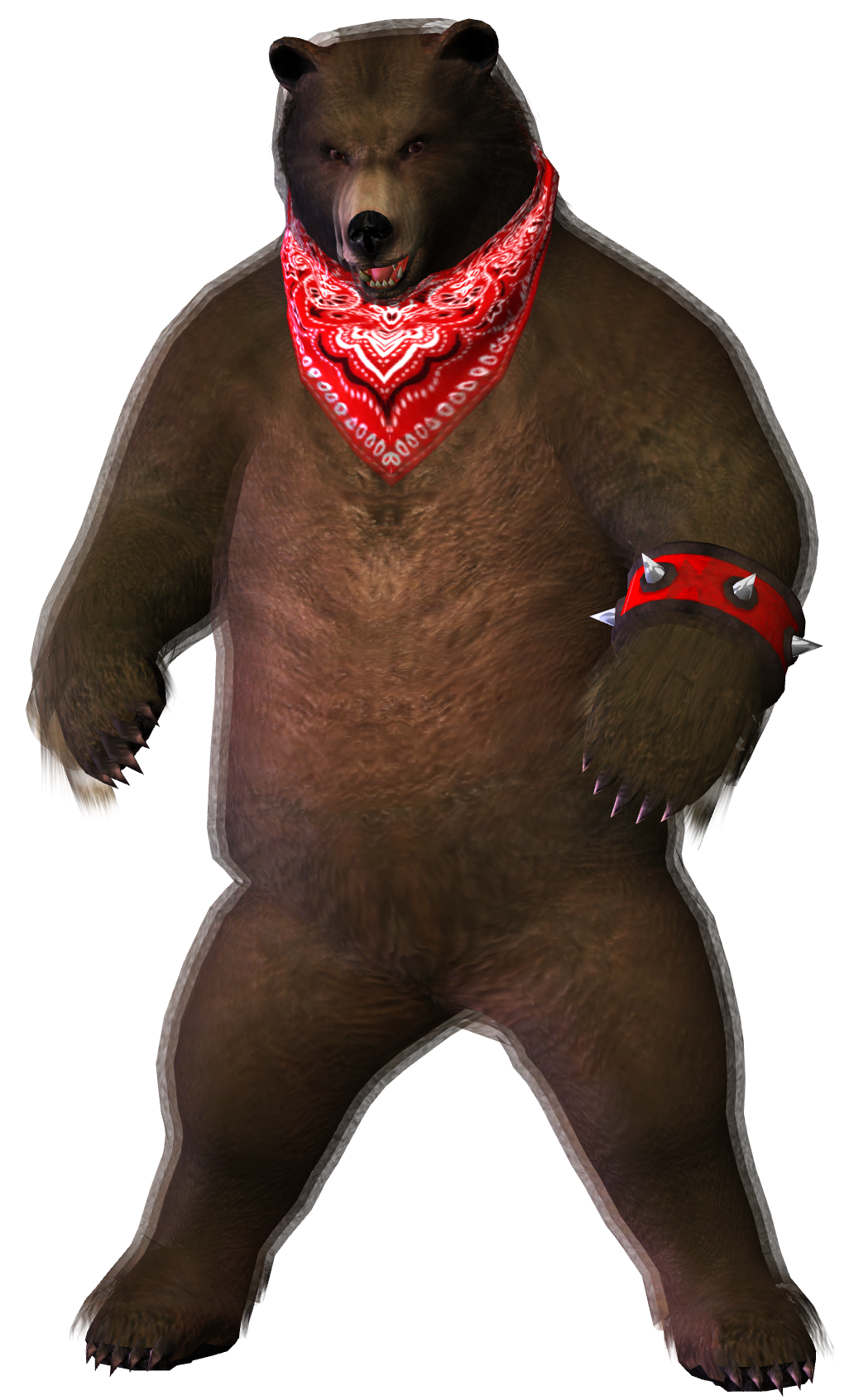 Tekken 6 Kuma Xps Download By Pedro Croft On Deviantart