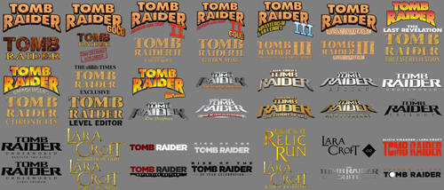 Tomb Raider Logo Pack - DOWNLOAD by Pedro-Croft