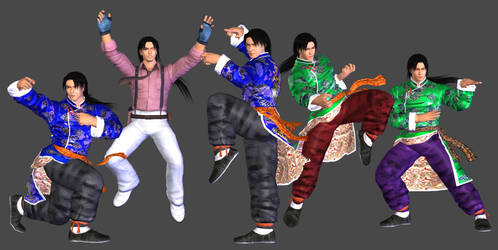 Lei Wulong POSE PACK (1) - XPS Download by Pedro-Croft