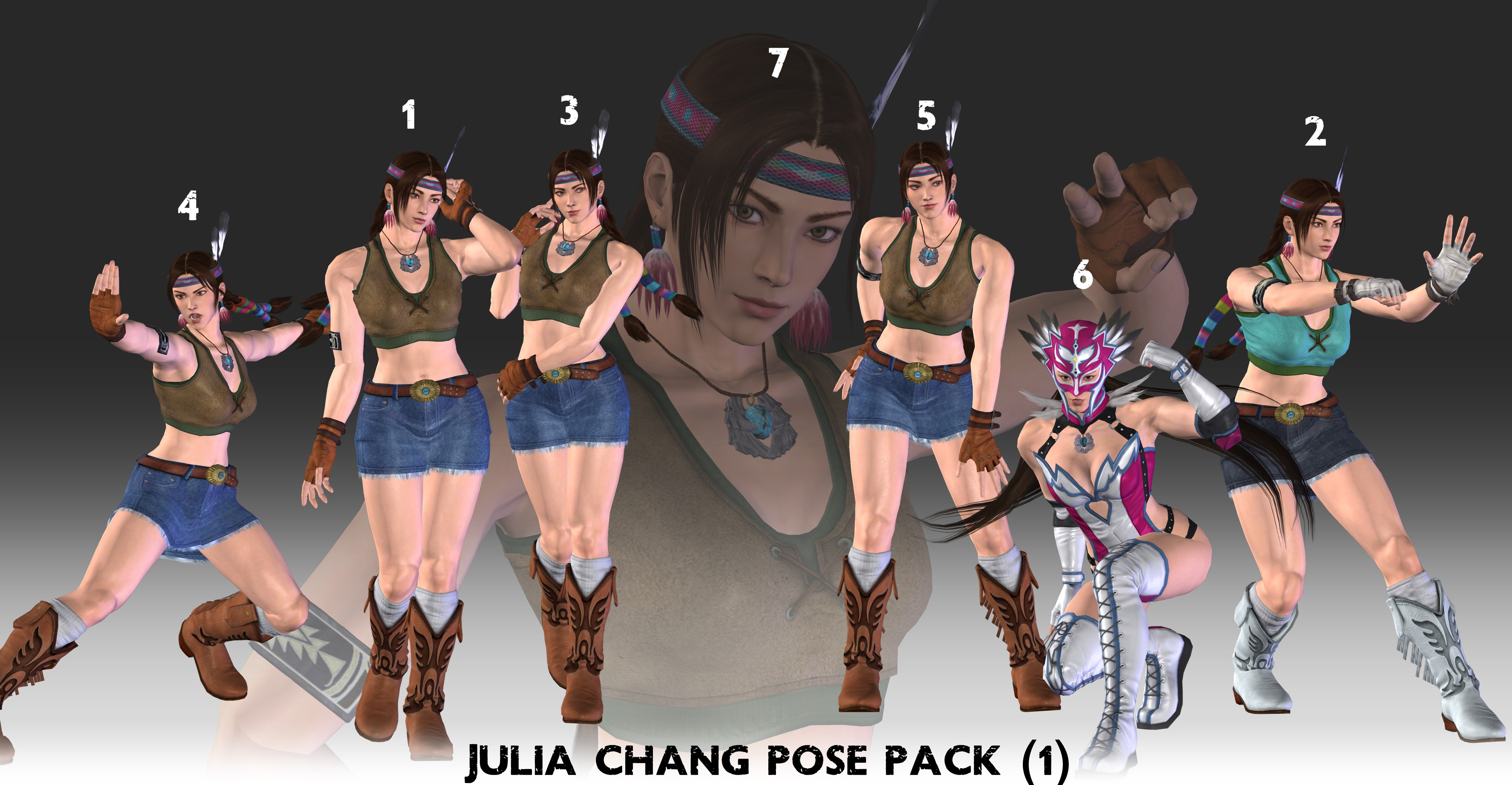 Julia Chang POSE PACK (1) - XPS Download by Pedro-Croft