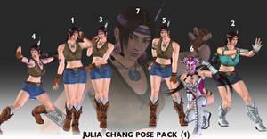 Julia Chang POSE PACK (1) - XPS Download