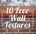 10 Free Wall (Brick) Textures