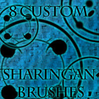 Sharingan Brush Set by 1337-1