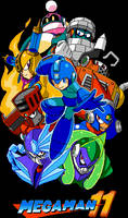 Mega Man 11 - Gears of Fate by KipoyTheNarwhal
