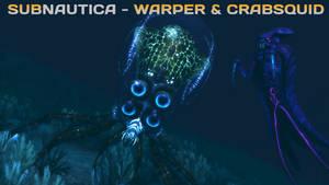 (SFM ONLY) Subnautica Warper and Crabsquid