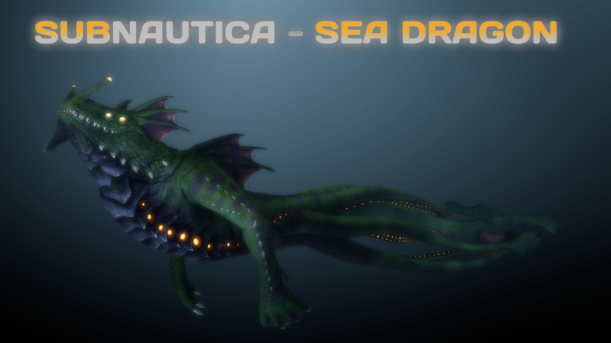 (SFM) Subnautica - Sea Dragon by A-Tortenesz