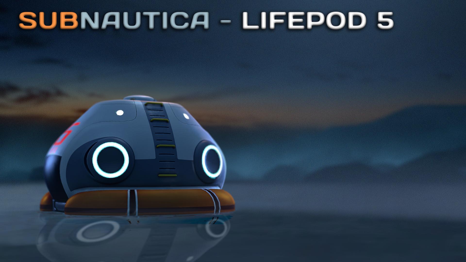 (SFM) Subnautica - Lifepod 5 by A-Tortenesz