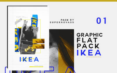 Ikea | Graphic Flatpack