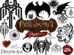 Dragon Age stamps