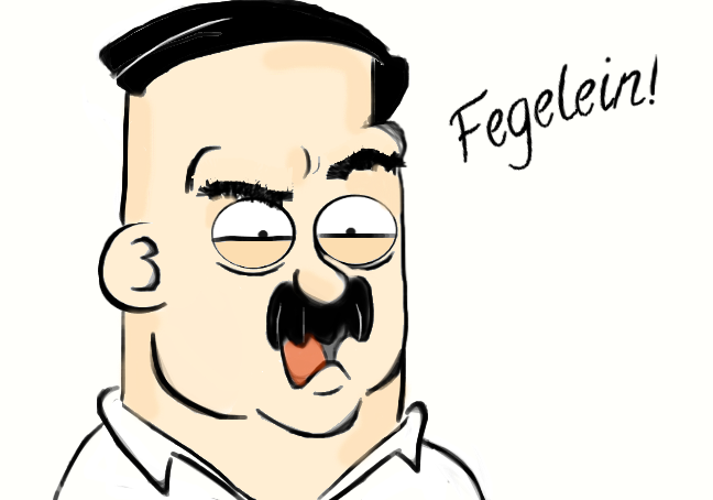 Damn you, Fegelein by clevercartoon-er