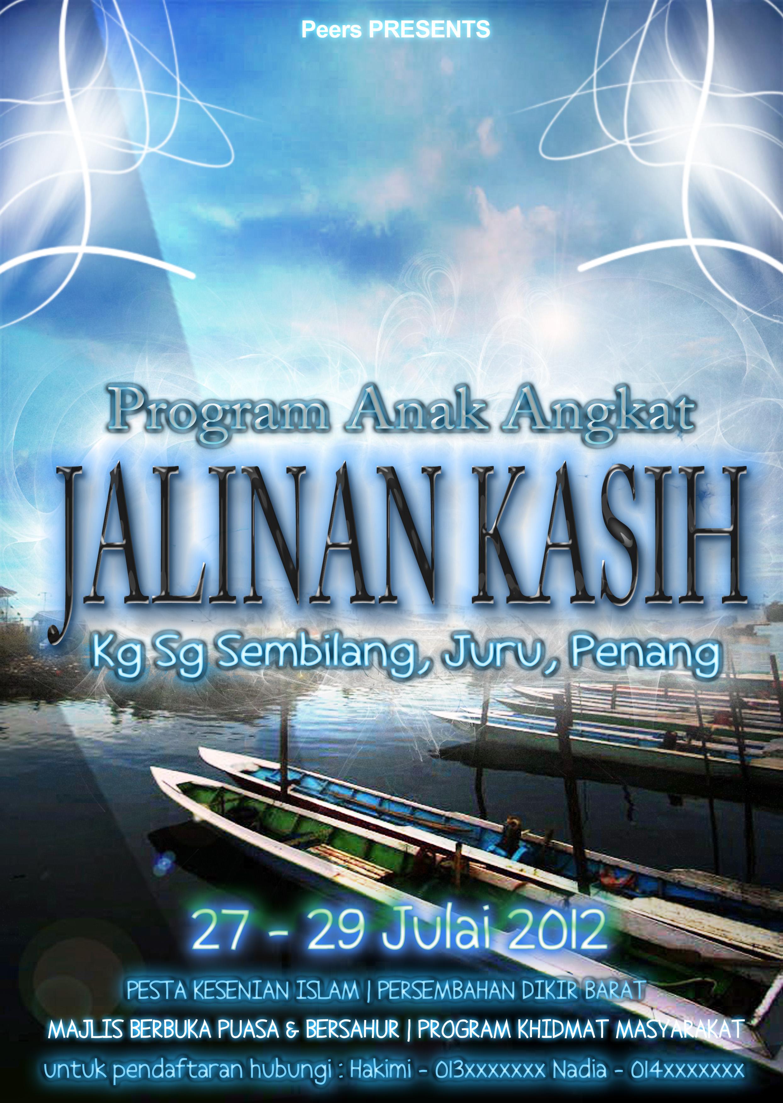 Poster Program Anak Angkat By Yunkaerphotographic On Deviantart