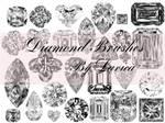 Diamond Photoshop Brushes