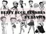Betty Boop Brushes