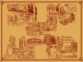 Roman Photoshop Brushes by Lavica-Photoshop
