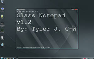 Glass Notepad by theking9794