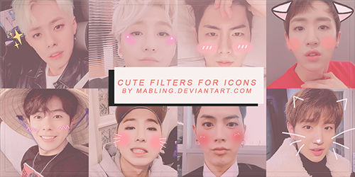 Cute Filter By Mabling