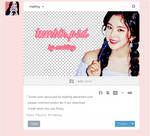 Tumblr Post Layout.psd by Mabling