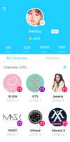 V app Layout PSD by Mabling