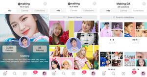 PSD We Heart It Layout By Mabling by mabling