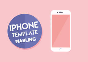 iPhone Template PSD by mabling