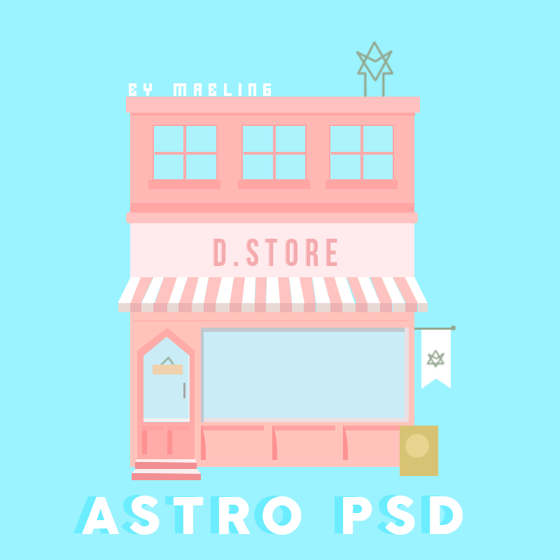 ASTRO D STORE IN PSD - ALBUM DREAM PART 1 by mabling on DeviantArt