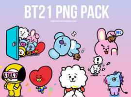 BT21 PNG PACK